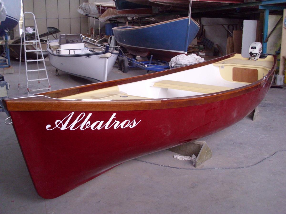 Barca Nuova per la pesca