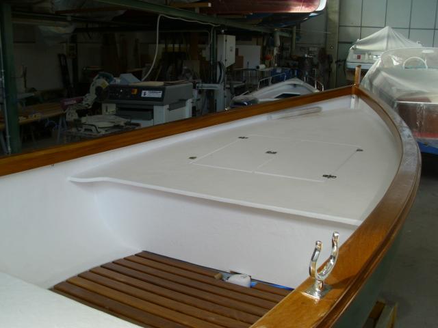 Bordatura barca in legno